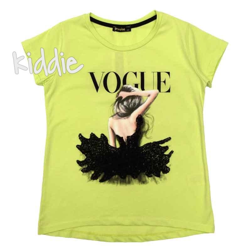 Туника за момиче с пайети Vogue Yesmina