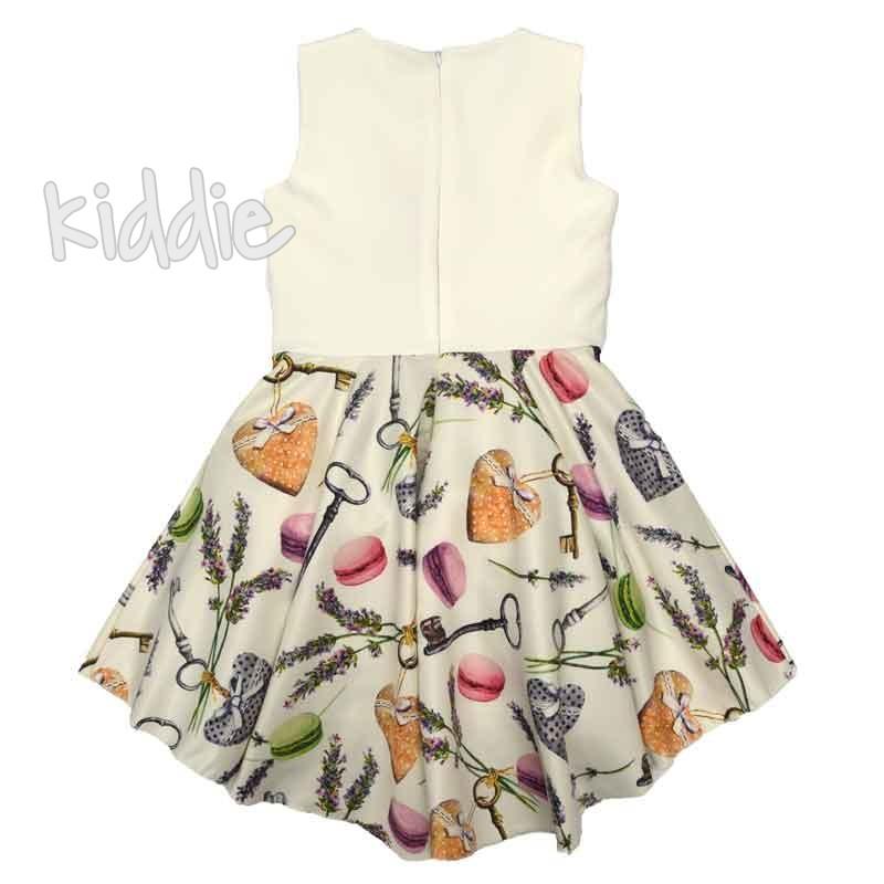 Детска рокля Kim Kids с панделка отпред