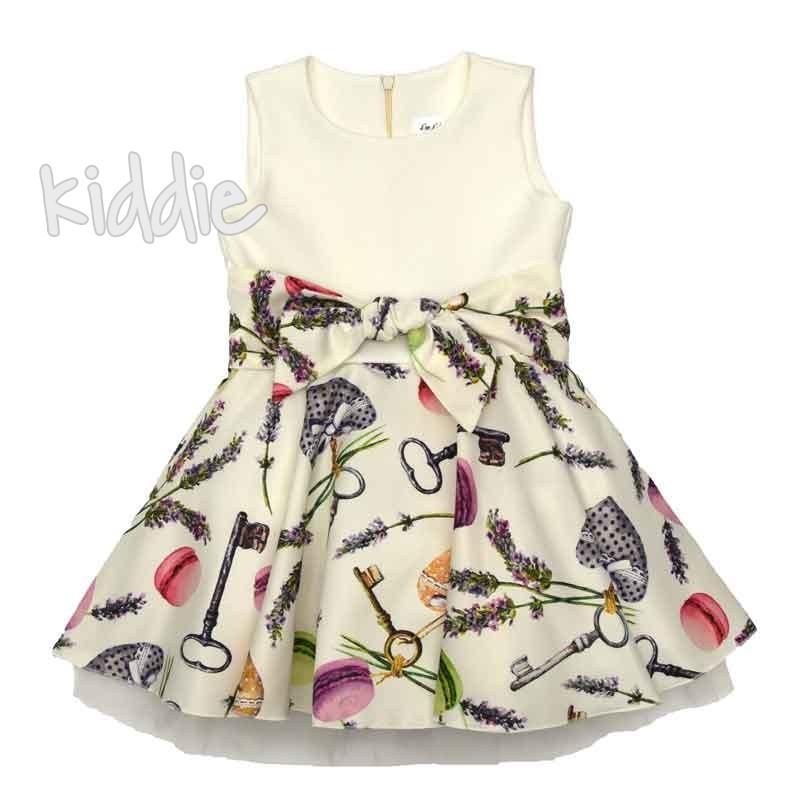 Детска рокля Kim Kids с принт