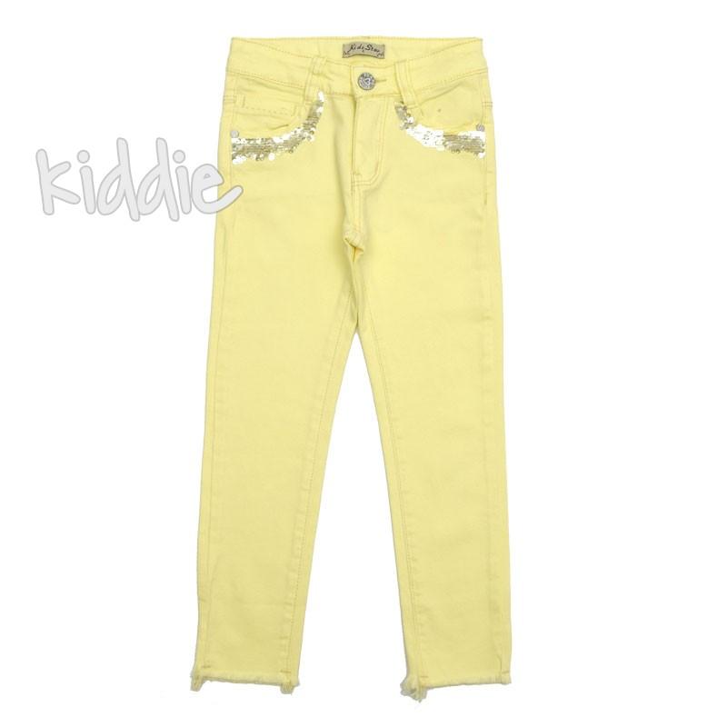 Детски цветен панталон Kids Star за момиче