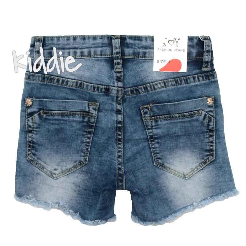 Детски къси дънкови панталони Joy за момиче