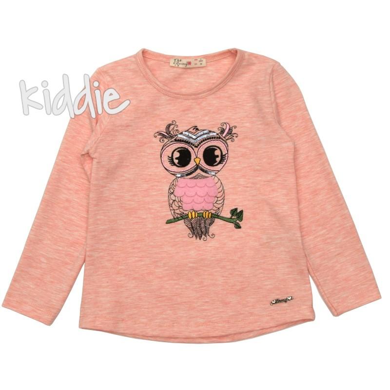 Детска блуза Бухалче, Barmy за момиче