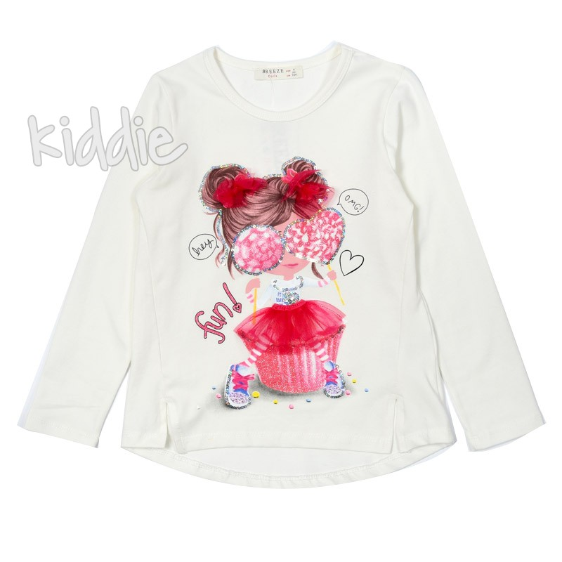 Детска блуза за момиче FUN Breeze