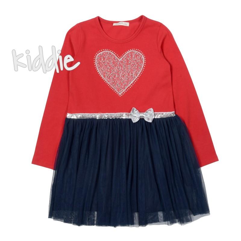 Детска рокля Breeze със сърце