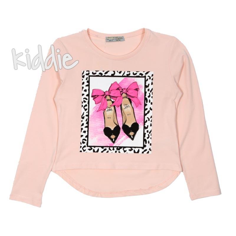 Детска блуза Little Star с принт за момиче