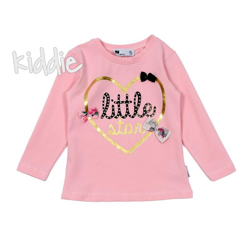 Детска блуза със сърце Little Star за момиче