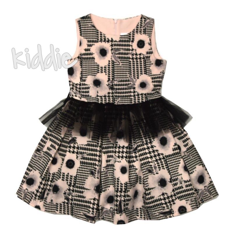 Детска рокля Kim Kids с тюл на талията