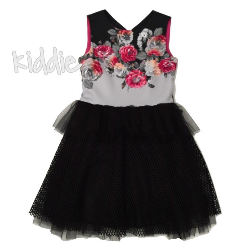Детска рокля Kim Kids с тюл