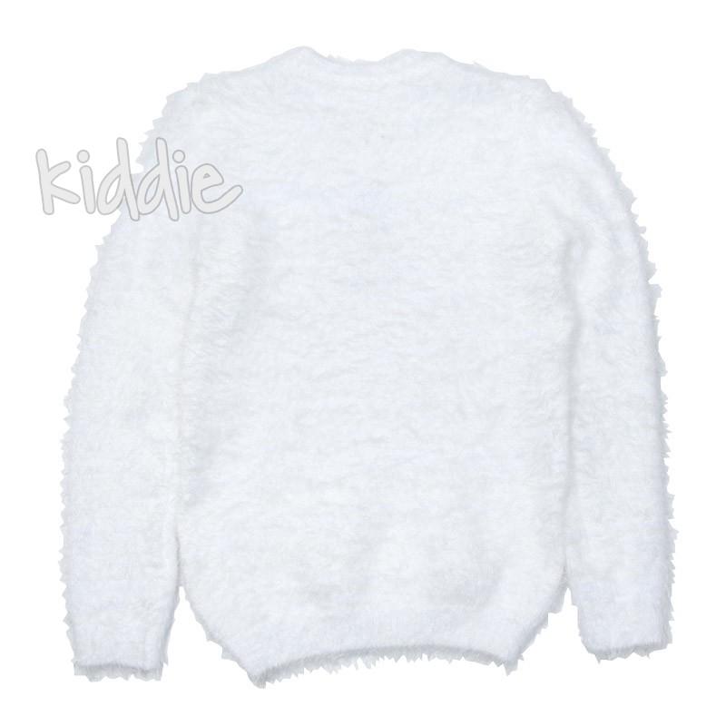 Детски пухкав пуловер за момиче Breeze