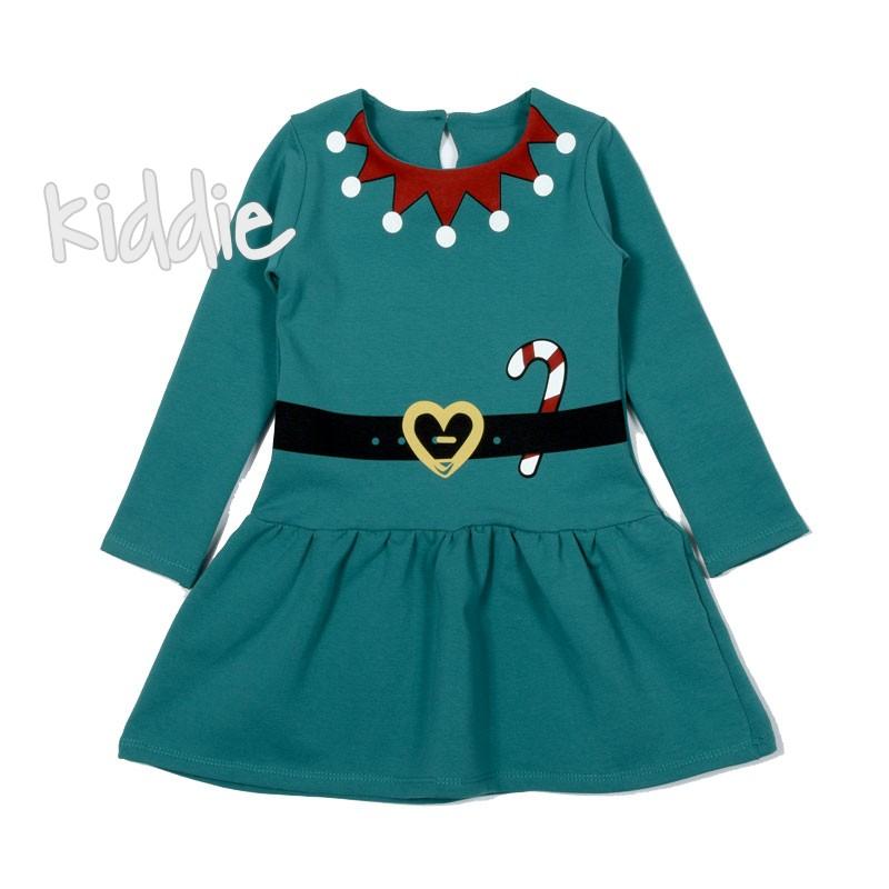 Детска Коледна рокля Севтекс