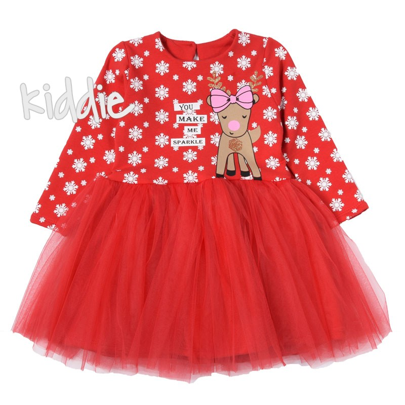 Детска коледна рокля Sevtex