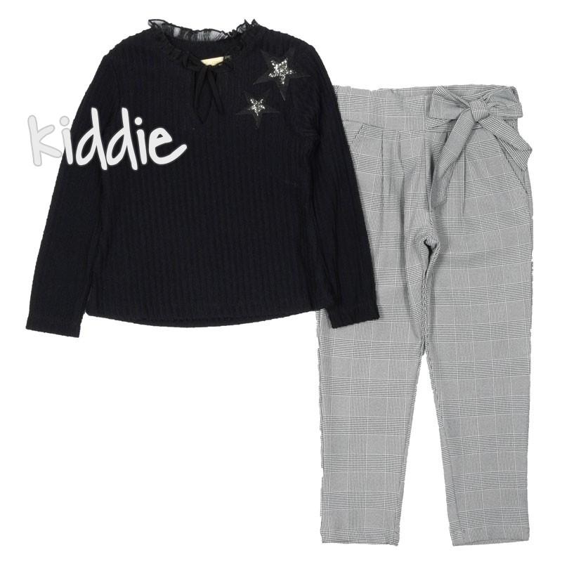 Детски комплект Moonstar за момиче с панталон каре
