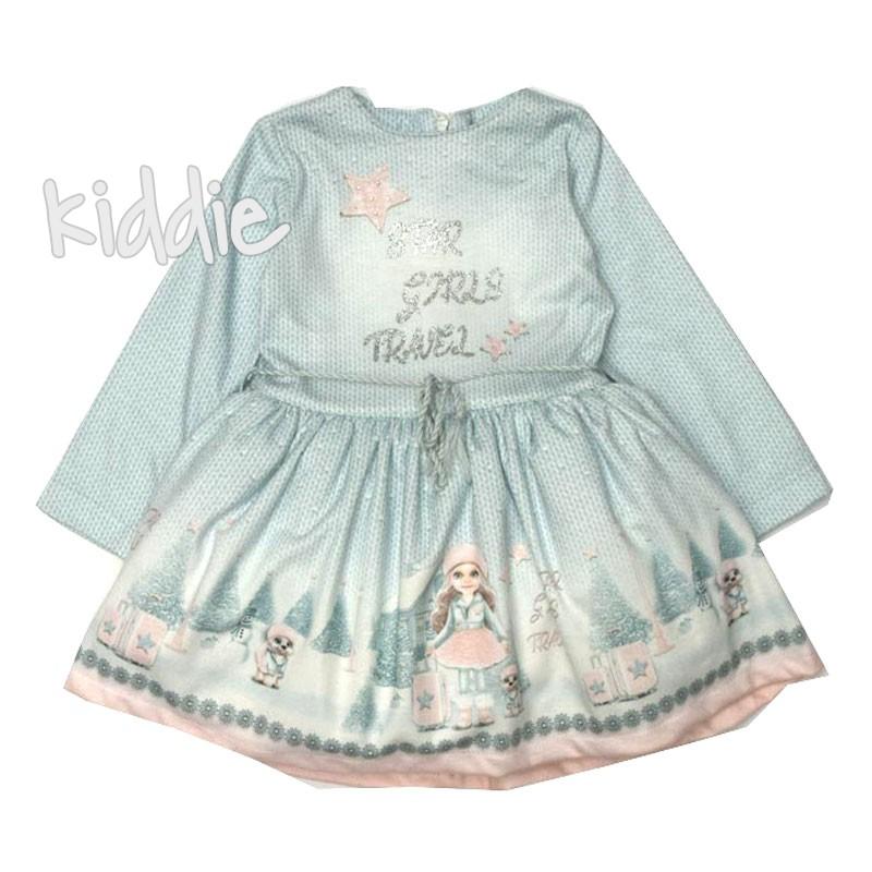Детска рокля Moonstar с тюл