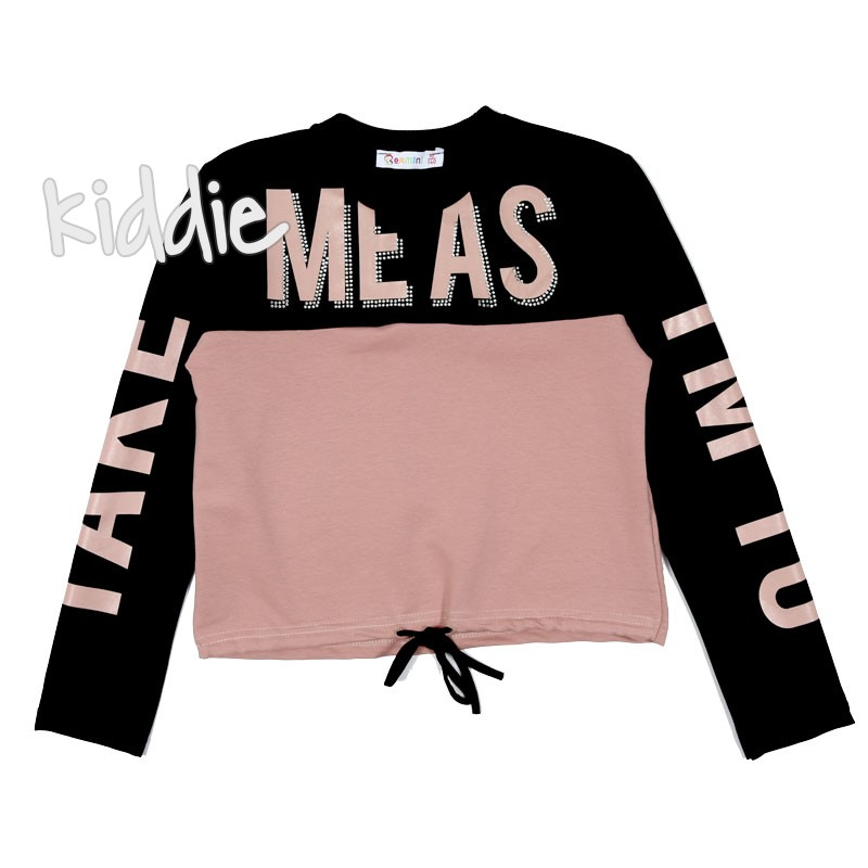 Детска къса блуза Meas за момиче