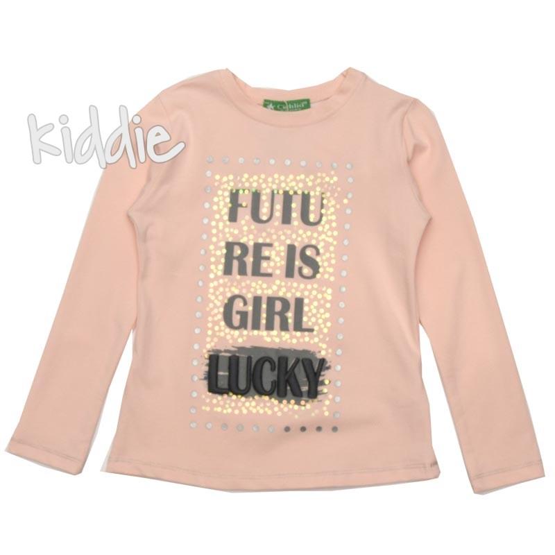 Детска блуза за момиче Cichlid