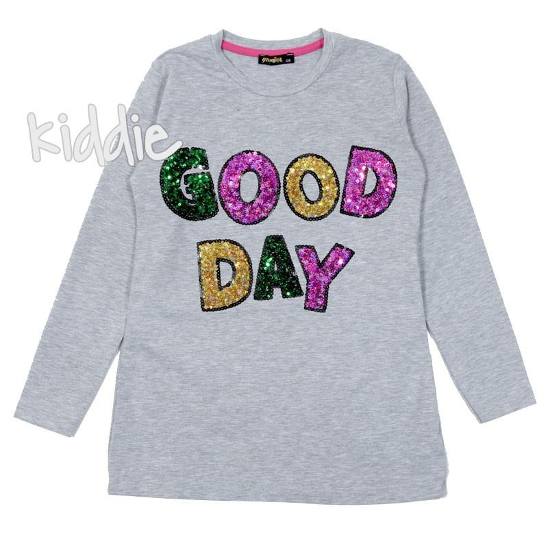 Детска блуза Good day за момиче