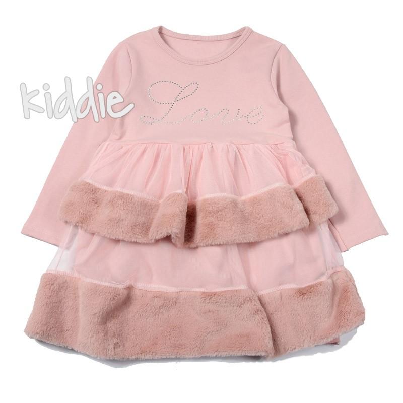 Детска рокля Love Beautiful с волани