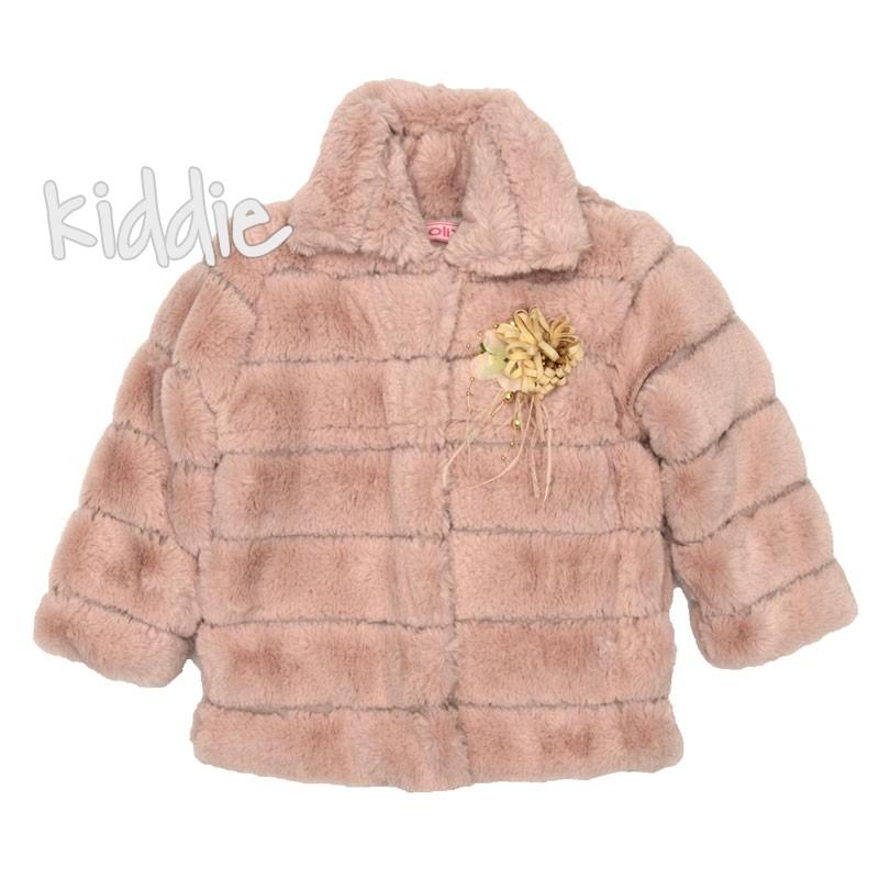 Детско пухкаво палто Miss Olix за момиче