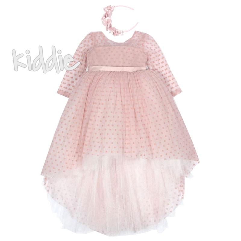 Официална детска рокля с тюл Monita