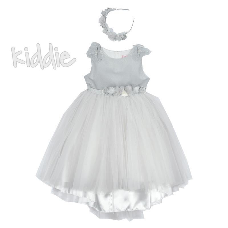 Официална детска рокля Monita с цветя