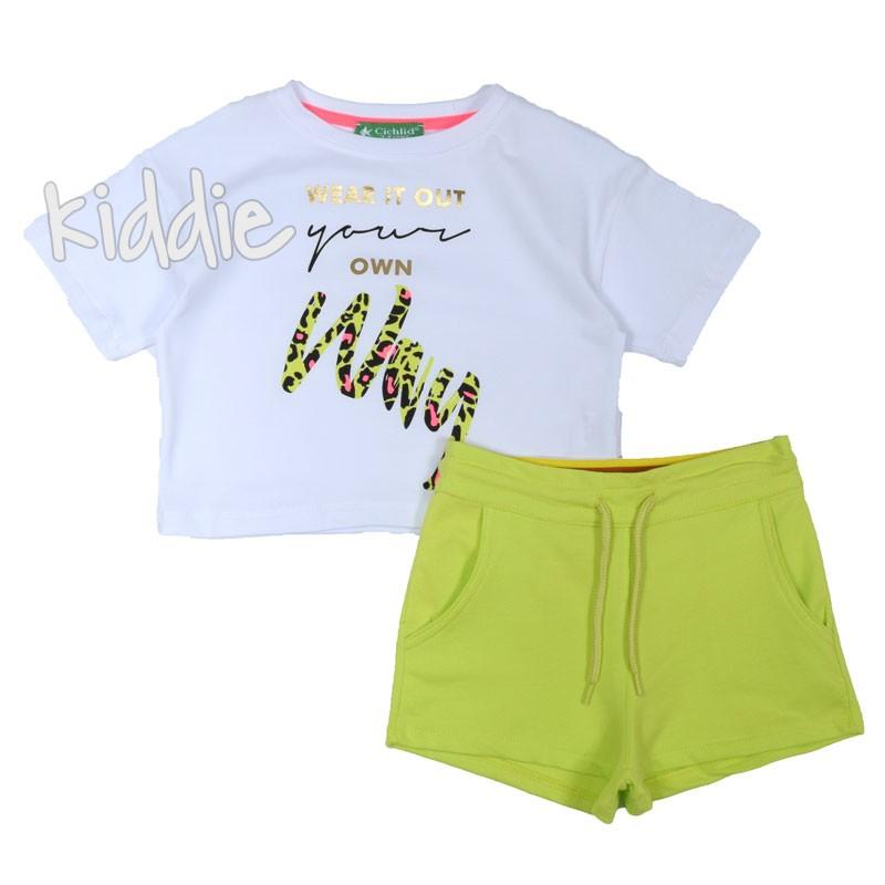 Детски комплект за момиче Wear it out, Cichlid