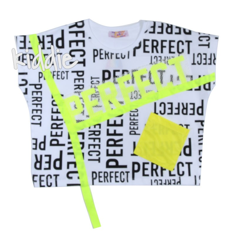 Детска тениска за момиче Perfect, Teto