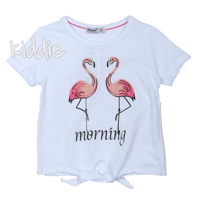 Детска тениска Morning Wanex за момиче
