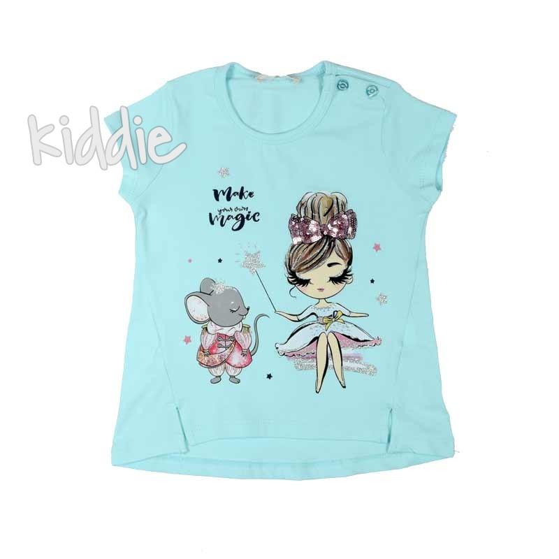 Детска тениска за момиче Make Magic Breeze