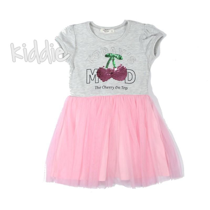Детска рокля Черешки Breeze
