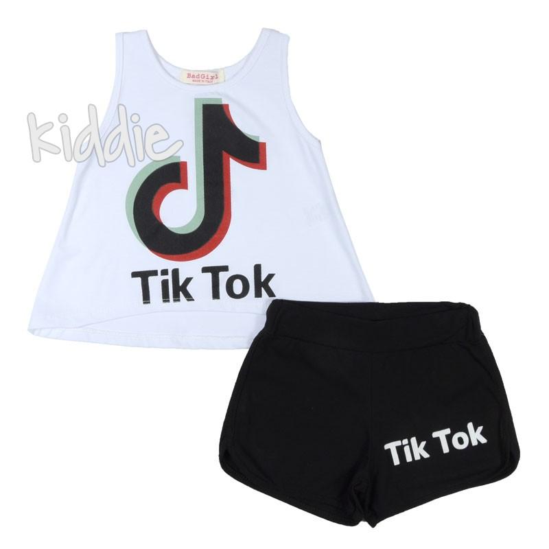 Детски комплект Tik Tok Bad Girl за момиче
