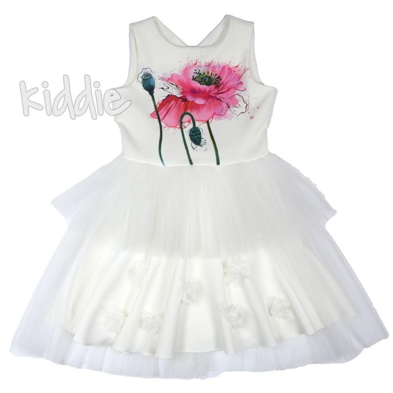 Детска рокля Мак с тюл Kim Kids