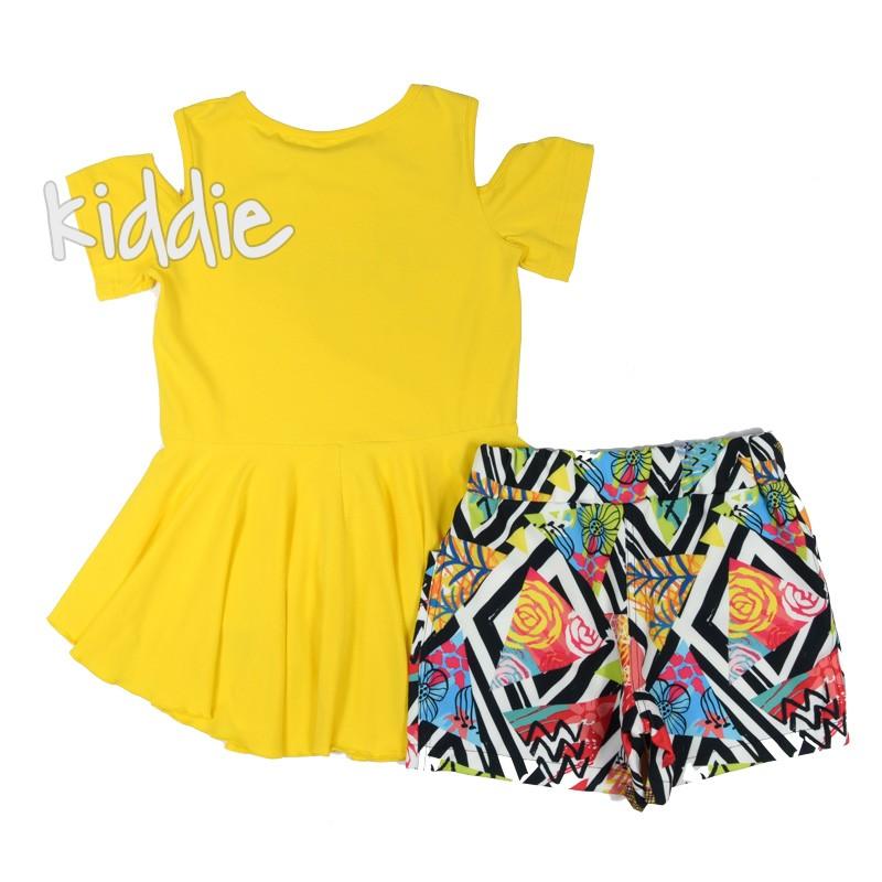 Детски комплект Kim Kids с къси панталони