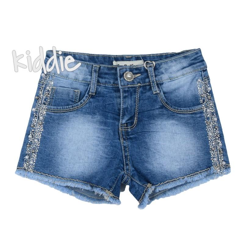 Къси дънкови панталони за момиче Miss Bellina