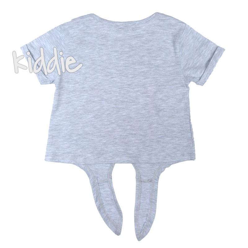 Детска къса тениска Say Wanex за момиче