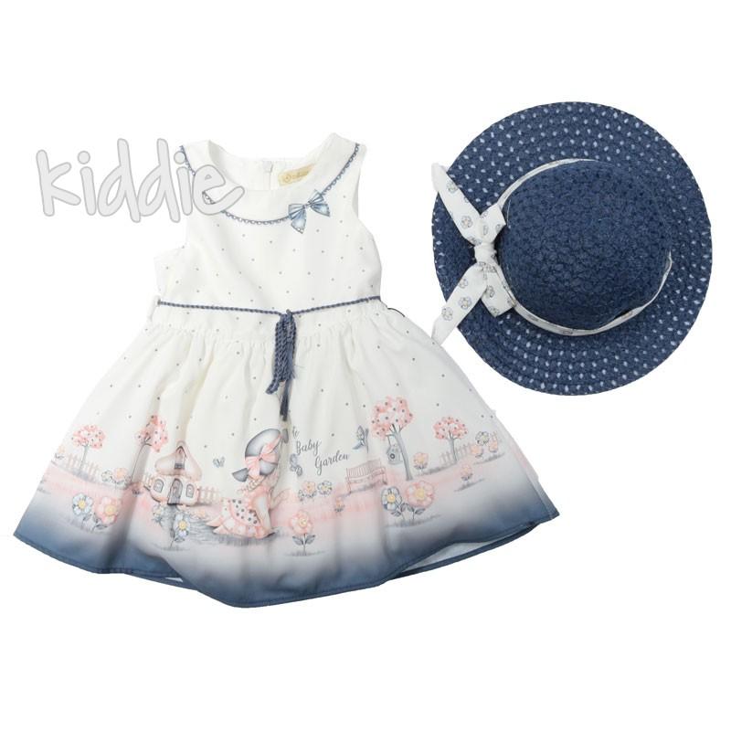 Детска рокля с шапка Cute baby, Moonstar