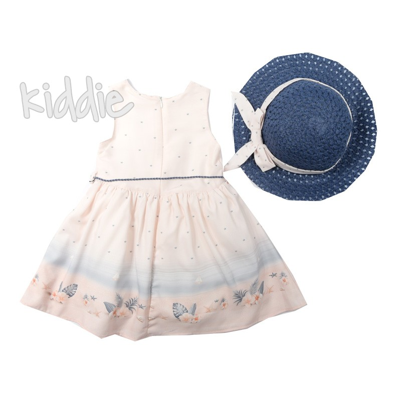 Детска рокля Welcome to beach Moonstar