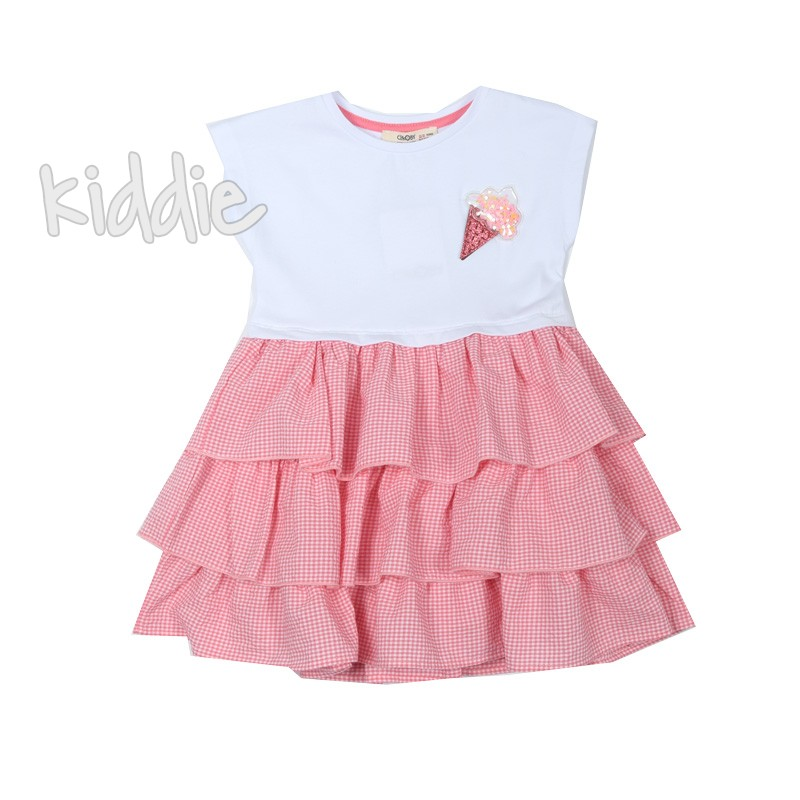 Детска рокля на волани Cikoby