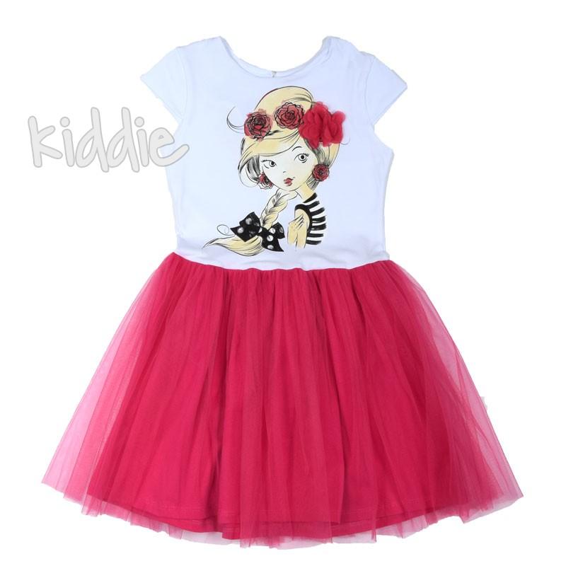 Детска рокля Sevtex с тюл