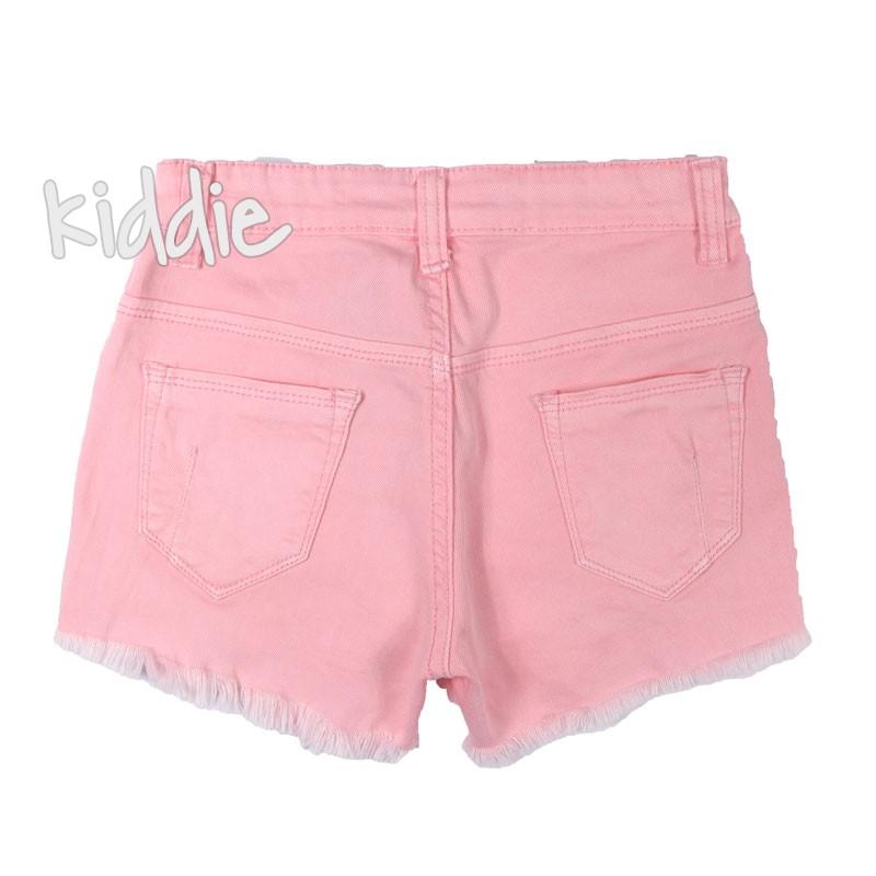 Детски къси панталони F and D за момиче с перли