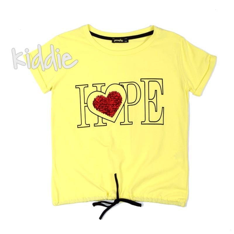 Детска тениска Hope Jesmina за момиче