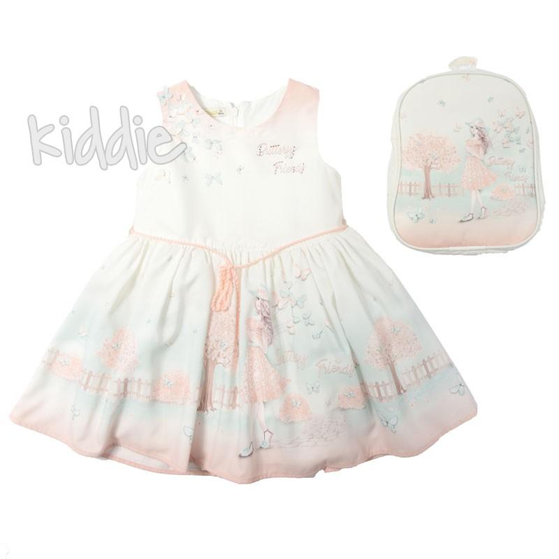 Детска рокля с раничка Butterfly Friends, Moonstar