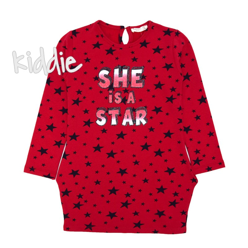 Детска рокля She is a Star Breeze
