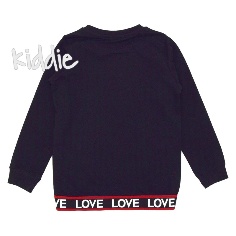 Детска блуза Breeze Love за момиче