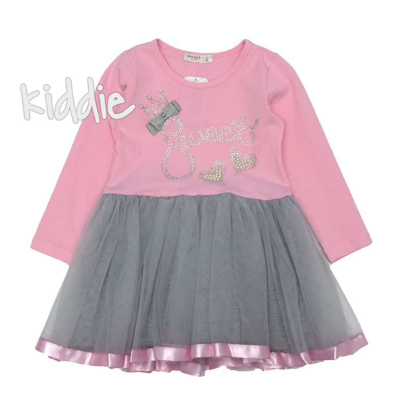 Детска рокля Sweet Breeze с тюл