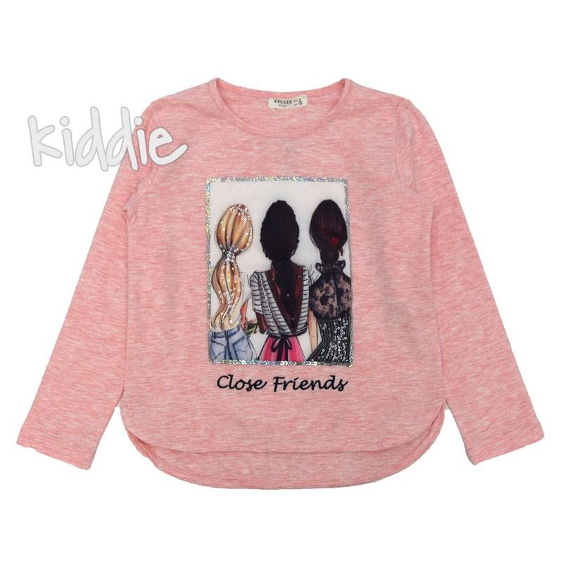 Детска блуза Close Friends Breeze за момиче