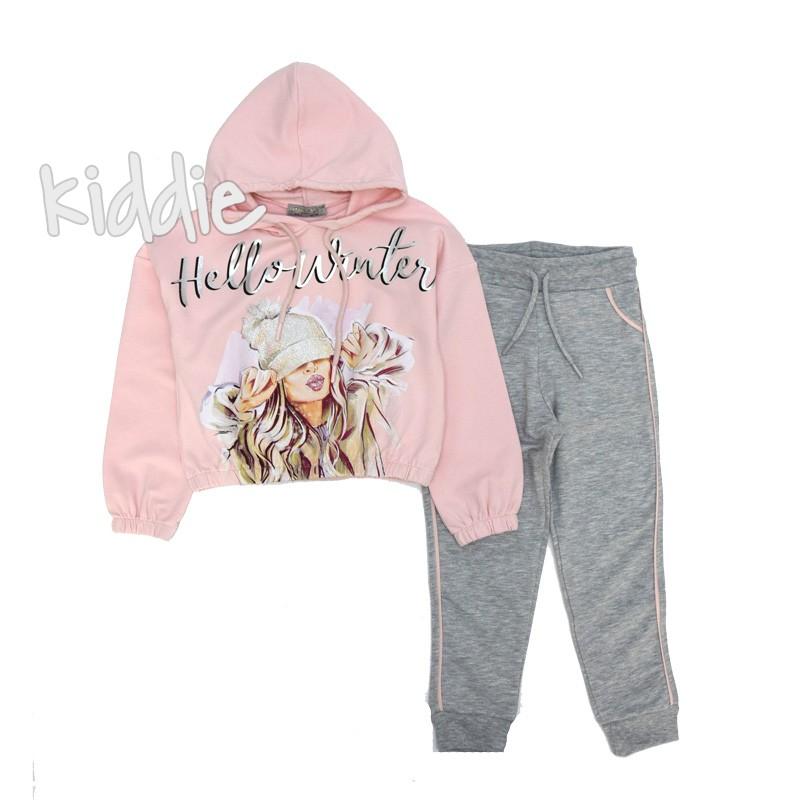 Детски комплект Hello Winter Little star за момиче