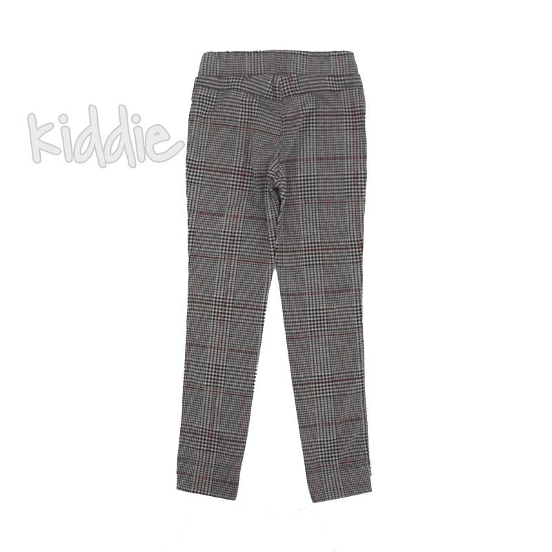 Детски кариран панталон Kim Kids за момиче
