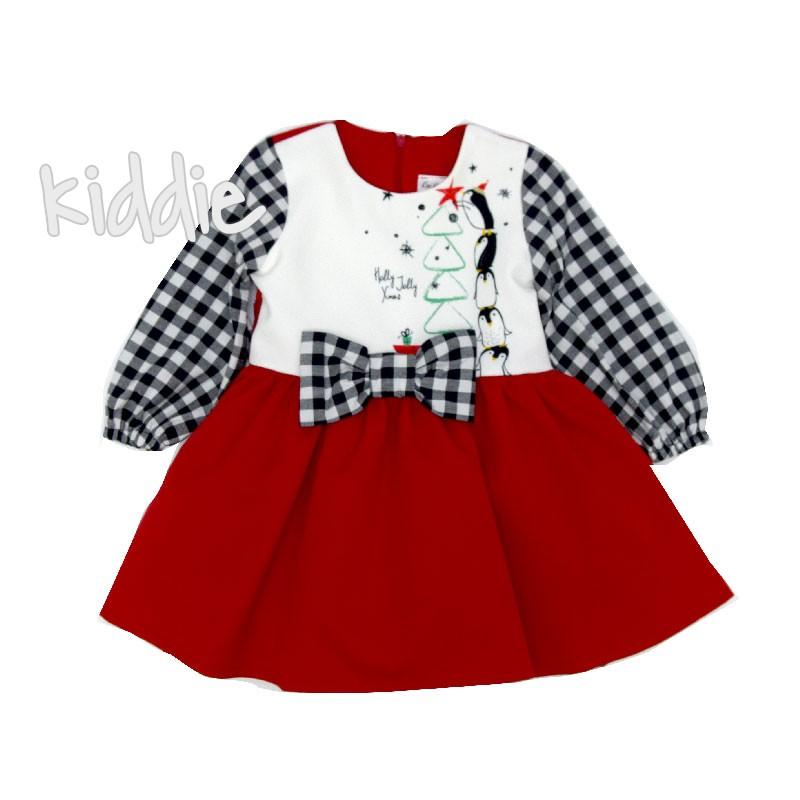 Детска коледна рокля Kim kids