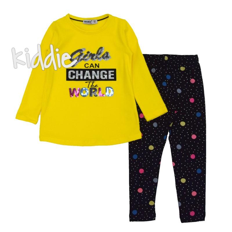 Детски комплект Girls can change Wanex за момиче