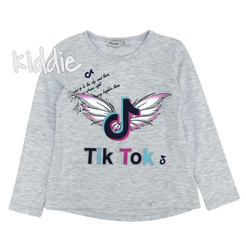 Детска блуза Tik-tok My prayer за момиче